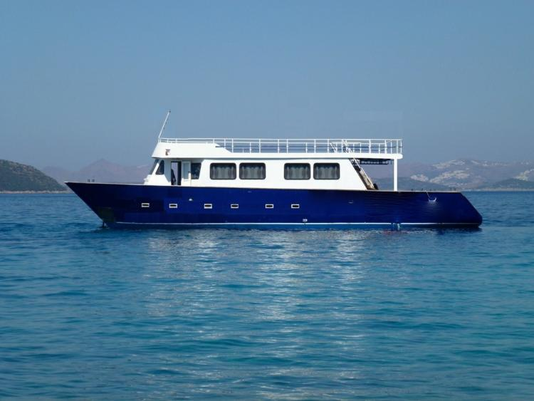 AGANTHUR DIVING BOAT TRAWLER